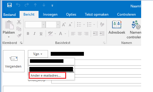 Huinink - e-mail versturen onder ander e-mailadres 1png