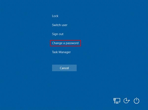 Huinink - wachtwoord Windows 10 veranderen